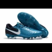 NK Tiempo Legend VII  FG Soccer Cleats-Blue