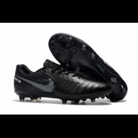 NK Tiempo Legend VII  FG Soccer Cleats-Black