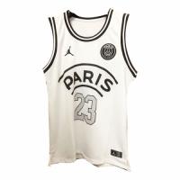 PSG×JORDAN Jordan #23 White Basketball Jersey Shirt