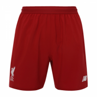18-19 Liverpool Home Red Soccer Jersey Short