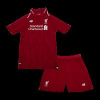 18-19 Liverpool Home Children's Jersey Kit(Shirt+Short)