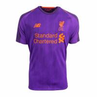18-19 Liverpool Away Purple Soccer Jersey Shirt