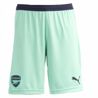 18-19 Arsenal Third Away Green Soccer Jersey Short