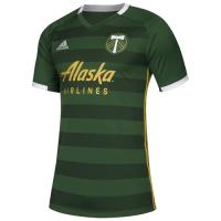 2019 Portland Timbers Home Green Soccer Jerseys Shirt