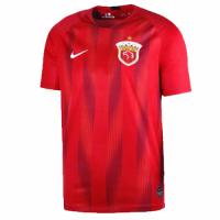 2019 Shanghai SIPG Home Red Soccer Jerseys Shirt