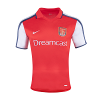 2000-2001 Arsenal Retro Home Red Soccer Jersey Shirt