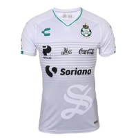 18-19 Santos Laguna Third Away White Soccer Jerseys Shirt
