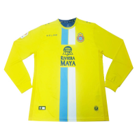 18-19 RCD Espanyol Third Away Yellow Long Sleeve Jerseys Shirt