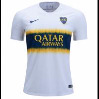 18-19 Boca Juniors Away White Soccer Jersey Shirt