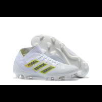 AD X NEMEZIZ 18.1 FG Soccer Cleats-White