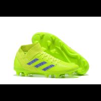 AD X NEMEZIZ 18.1 FG Soccer Cleats-Light Green
