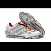 AD X Predator Precision FG Soccer Cleats-White