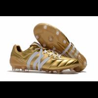 AD X Predator Mania Champagne FG Soccer Cleats-Golden