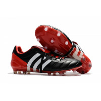 AD X Predator Mania Champagne FG Soccer Cleats-Black&Red