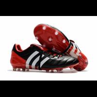 AD X Predator Mania Champagne FG Soccer Cleats-Black&Red