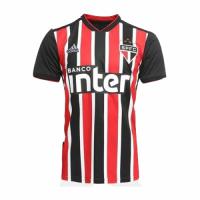 18-19 Sao Paulo Away Red&Black Soccer Jersey Shirt