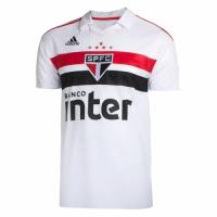 18-19 Sao Paulo Home White Soccer Jersey Shirt