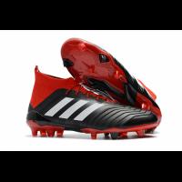 AD Predator 18+ FG boots-Red&Black