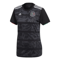 2019 Mexico Gold Cup Home Black Women's Jerseys Shirt
