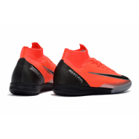 Nike Mercurial Superfly VI Elite CR7 Soccer Cleats-Orange&Black