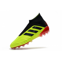 AD X Predator 18+AG Soccer Cleats-Green