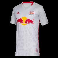 2019 New York Red Bulls Home Gray Soccer Jerseys Shirt