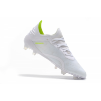AD X 18.1 FG Soccer Cleats-White&Green