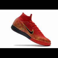 Nike Mercurial SuperflyX VI Elite Soccer Cleats-Red