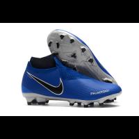 NK Phantom Vision Elite DF FG Soccer Cleats-Blue