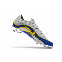 NIKE Mercurial Vapor XII Elite FG Soccer Cleats-Silvery&Blue