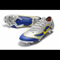 NIKE Mercurial Vapor XII Elite FG Soccer Cleats-Silvery&Blue