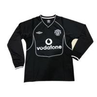 00-01 Manchester United Goalkeeper Black Long Sleeve Retro Jerseys Shirt