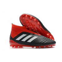 AD X Predator 18+AG Soccer Cleats-Red&Black