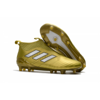 AD ACE 17+ PureControl FG Soccer Cleats-Golden