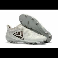 AD X 17+ Purechaos FG Soccer Cleats-Grey