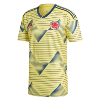 2019 Colombia Home Yellow Soccer Jerseys Shirt(Player Version)