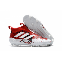 Adidas ACE 17+ PureControl CONFED CUP FG Soccer Cleats-Red&White