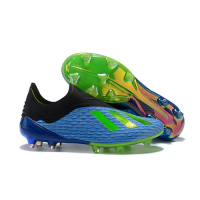 AD X 18+ FG Soccer Cleats-Blue&Black