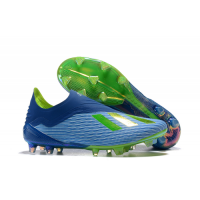 AD X 18+ FG Soccer Cleats-Blue&Green