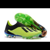 AD X 18+ FG Soccer Cleats-Green&Black