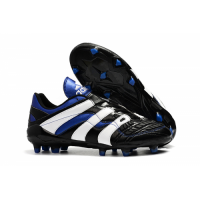 AD X Predator Accelerator Electricity AG Soccer Cleats-Blue&White