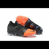 NK Mercurial Greenspeed 360 FG Soccer Cleats-Black&Orange
