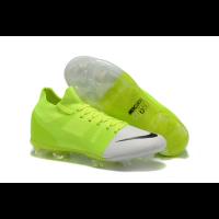 NK Mercurial Greenspeed 360 FG Soccer Cleats-Green&White