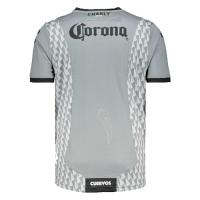 2019 Club De Cuervos Third Away Gray&White Jerseys Shirt