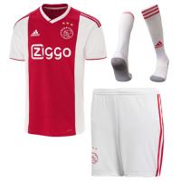 18-19 Ajax Home Soccer Jersey Whole Kit(Shirt+Short+Socks)