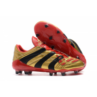 AD X Predator Accelerator Electricity AG Soccer Cleats-Golden