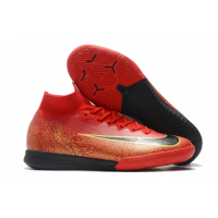 NK Mercurial SuperflyX VI Elite Soccer Cleats-Red