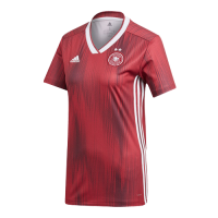 2019 Germany Away Red Women's Jerseys Shirt