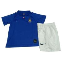 2019 France Home 100-Years Anniversary Children's Jerseys Kit(Shirt+Short)