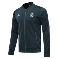19-20 Real Madrid Navy V-Neck Training Jacket